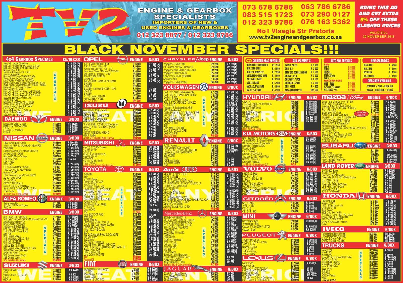 TV2 20 November